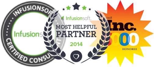 Proud to be Infusionsoft's 2014 Most Helpful Partner
