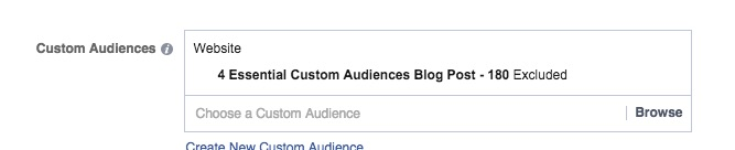 Exclude Custom Audiences To Avoid Wasting Money