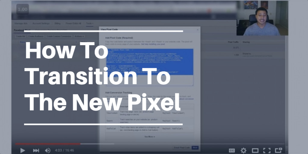 How To Transition From The Old Pixel To The New Facebook Master Pixel