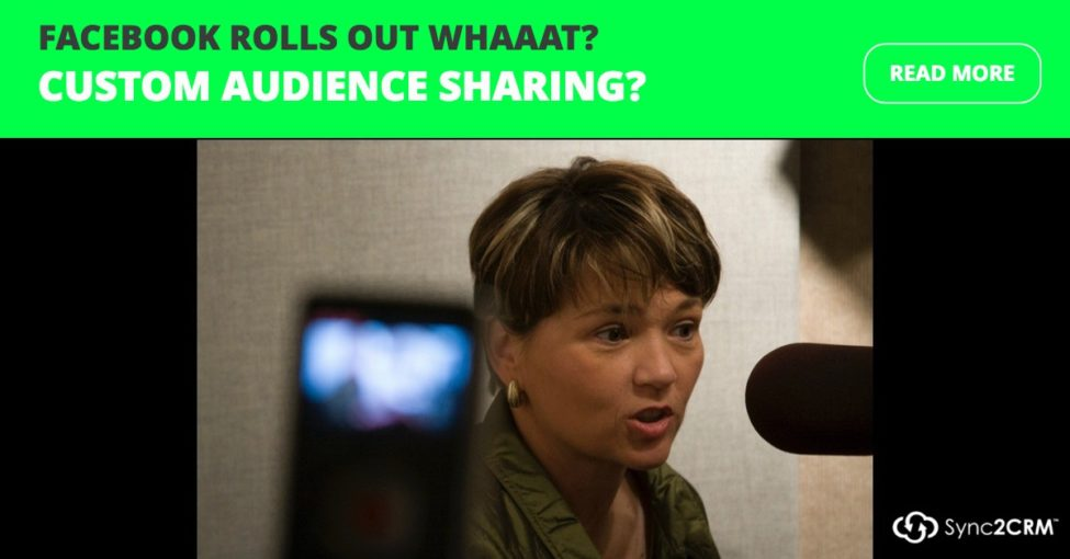 Custom Audience Sharing
