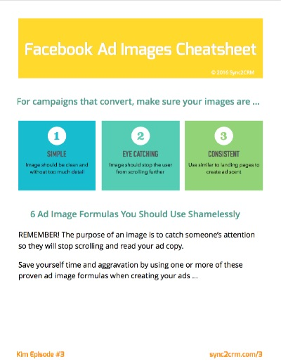 Facebook 20% Text Rule Cheatsheet