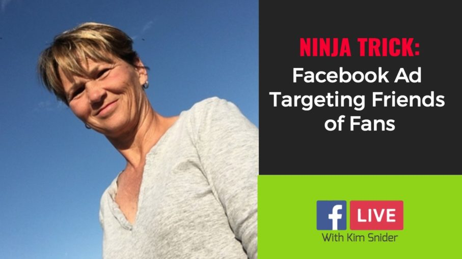 Ninja Trick - Facebook Ad Targeting Friends of Fans