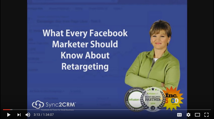 Facebook Retargeting - What Marketers Need To Know Webinar