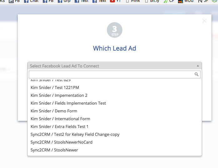 Step 5 - Email when Facebook Lead Ad is received