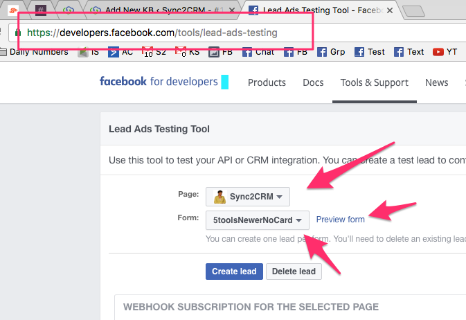 Step 12 - Choose Facebook Ad Account
